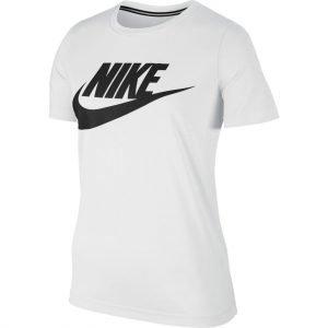 Nike Essntl T-Paita Valkoinen