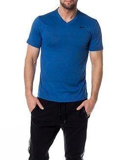 Nike Legend 2.0 SS V-Neck Blue