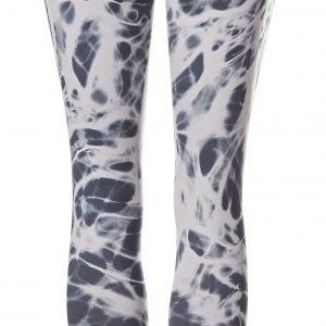 Nike Leggingsit Mustavalkoinen