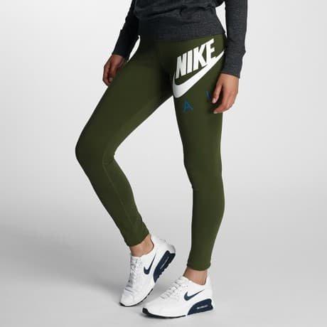 Nike Leggingsit Oliivi