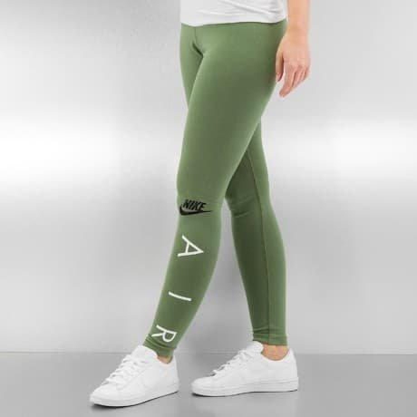 Nike Leggingsit Vihreä