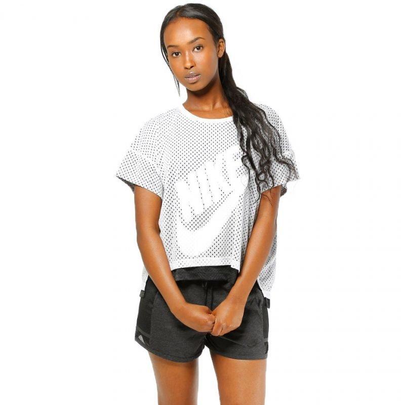 Nike Mesh Crop -t-paita