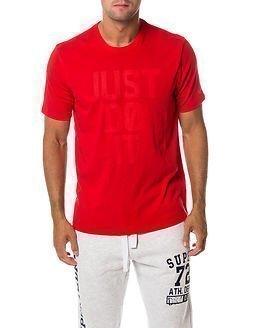 Nike Mesh Stack Tee Red