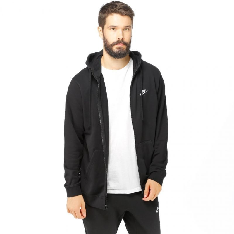 Nike NSW Hoodie FZ FT Club -zip huppari