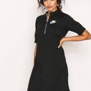 Nike Nsw Av15 Dress Loose Fit Mekko Musta / Valkoinen