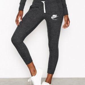 Nike Nsw Gym Vintage Pant Housut Musta