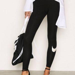 Nike Nsw Lggng Logo Club Leggingsit Musta / Valkoinen