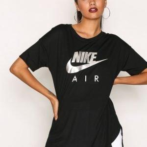 Nike Nsw Top Ss Air T-Paita Musta