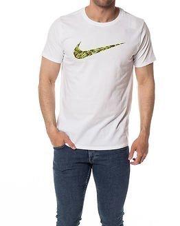 Nike Palm Tee Print Swoosh White