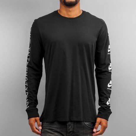 Nike Pitkähihainen Paita Musta