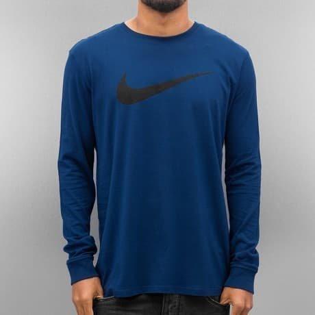 Nike Pitkähihainen Paita Sininen