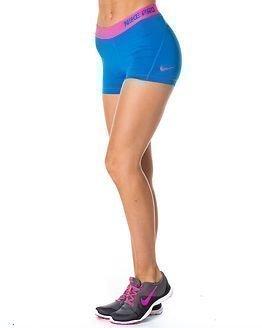 "Nike Pro 3"" Cool Short Blue/Pink"
