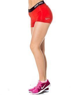 """Nike Pro 3"""" Cool Short Red"""