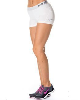 "Nike Pro 3"" Cool Short White"