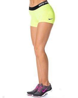 "Nike Pro 3"" Cool Short Yellow"