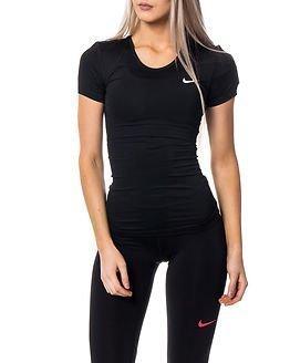 Nike Pro Cool Short Sleeve Black