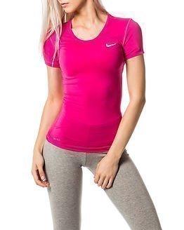 Nike Pro Cool Short Sleeve Pink