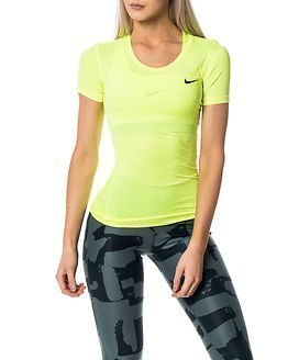 Nike Pro Cool Short Sleeve Yellow