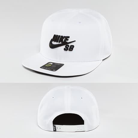 Nike SB Snapback Lippis Valkoinen