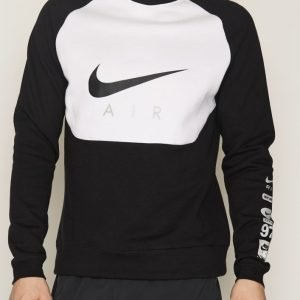 Nike Sportswear Air Hybrid Crew Neck Pusero Black/White