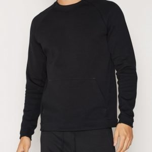 Nike Sportswear Mens Tech Fleece Crew Pusero Black