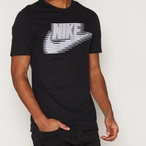 Nike Sportswear Nike Tee-Lenticular Futur T-paita Black/White