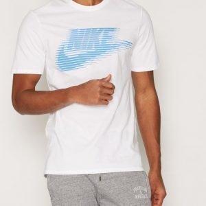 Nike Sportswear Nike Tee-Lenticular Futur T-paita Valkoinen/sininen