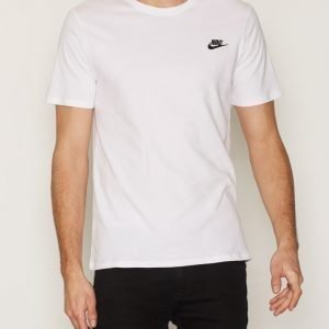 Nike Sportswear Tee Club Embroided T-Shirt T-paita White