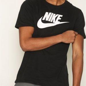 Nike Sportswear Tee Icon Futura T-paita Black/White
