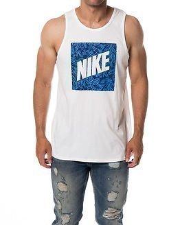 Nike Tank Palm Print Box White
