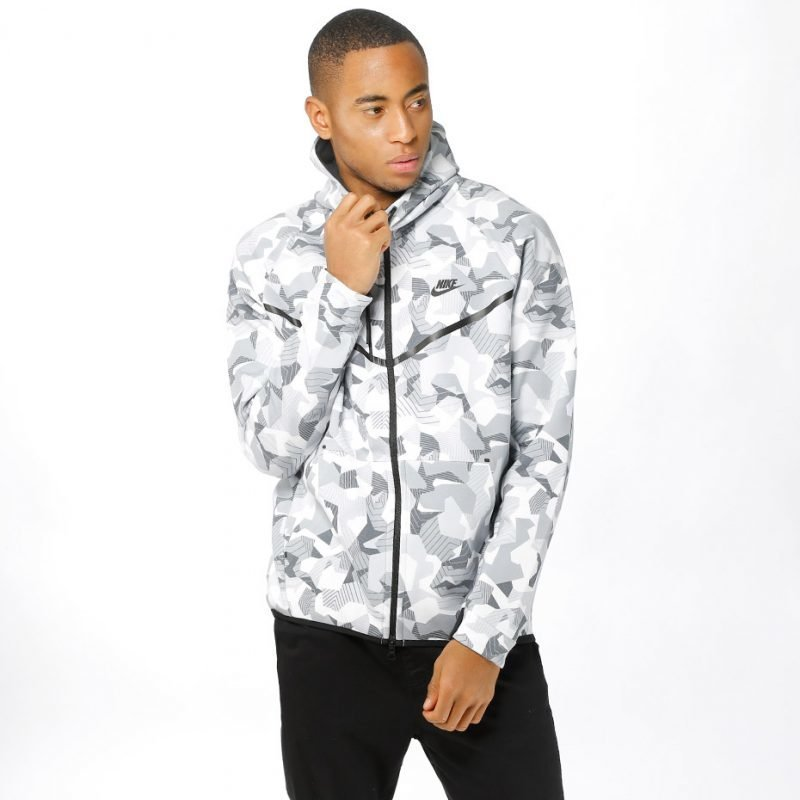 Nike Tech Fleece AOP -zip huppari
