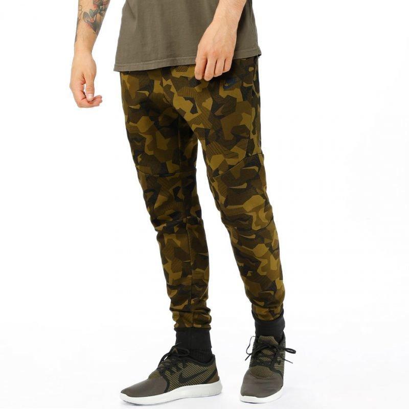 Nike Tech Fleece Camo -housut