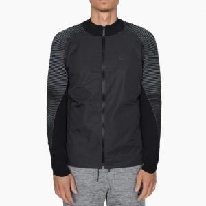 Nike Tech Knit Varsity Jacket