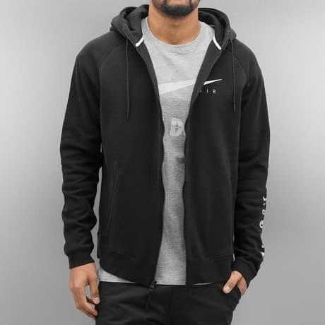 Nike Vetoketjuhuppari Musta