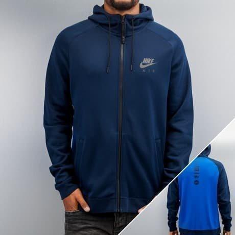 Nike Vetoketjuhuppari Sininen