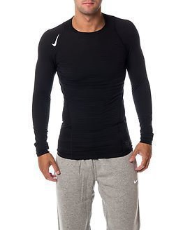 Nike Warm Comp Crew Neck Black