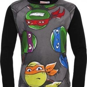 Ninja Turtles Pusero Musta