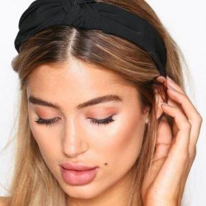 Nly Accessories Scarf Headband Diadeemi Musta