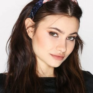 Nly Accessories Velvet Flower Headband Diadeemi Kukkainen