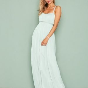 Nly Eve Diamond Strap Gown Maksimekko Mint
