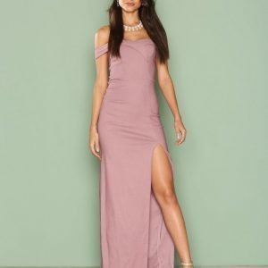 Nly Eve Dressed Up Gown Maksimekko Violetti