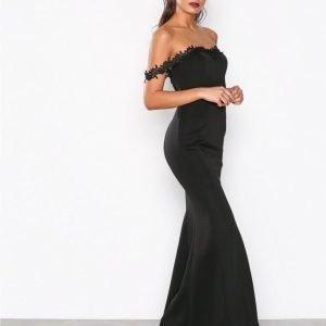 Nly Eve Flirt Me Mermaid Gown Maksimekko Musta