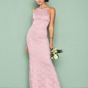 Nly Eve Romantic Halterneck Gown Maksimekko Violetti
