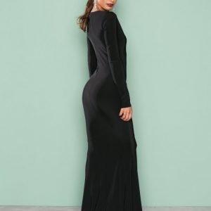 Nly Eve Sharp Mermaid Gown Maksimekko Musta