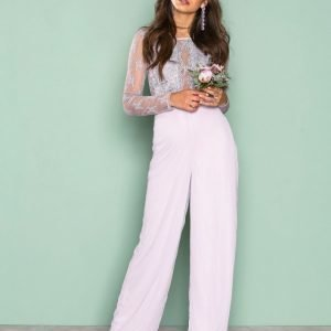 Nly Eve Whenever Jumpsuit Violetti