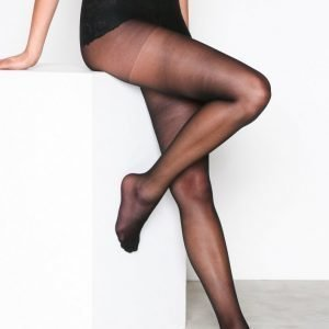 Nly Lingerie Pretty Legs Tights 15 Den Sukkahousut Musta