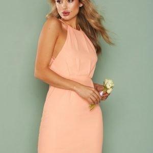 Nly One Crepe Lace Dress Kotelomekko Vaalea Pinkki