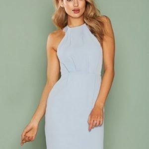 Nly One Crepe Lace Dress Kotelomekko Vaaleansininen