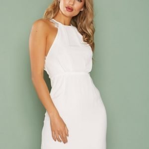 Nly One Crepe Lace Dress Kotelomekko Valkoinen