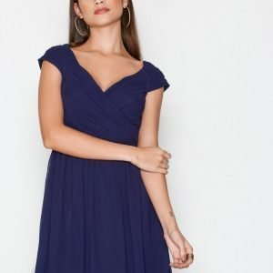 Nly One Cup Sleeve Dress Skater Mekko Navy
